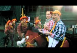 Sjon en Sjeffrie – Het cowboylied