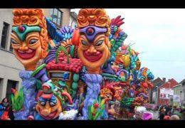Carnavalstoet Halle 2015