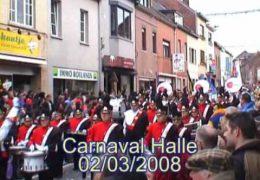 Carnavalstoet Halle 2008